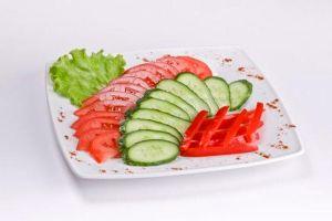 Свежие овощи по сезону
